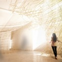 Australian Pavilion focuses on Architect's Evolving Role at Biennale (5) A complex robotically fabricated sculptural installation. © Supermanoeuvre
