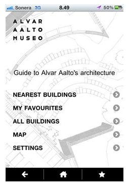 AALTOsites: Mobile Guide to Alvar Aalto's Architecture