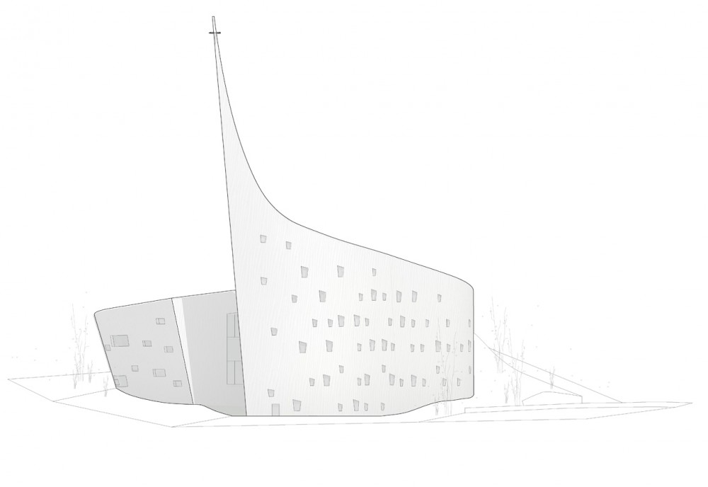 'Dove of Peace' Church / WEAVA Architects