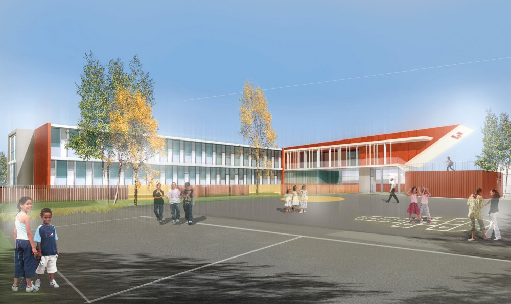Vigneux School / AR+TE Architectes