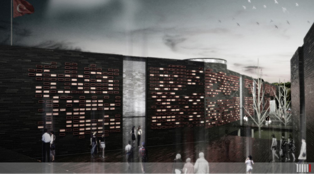 Gallipoli Agadere Memorial &#038; Hospital Museum Proposal / Ziya Imren, Bar Ekmeki, Mnire Sagat
