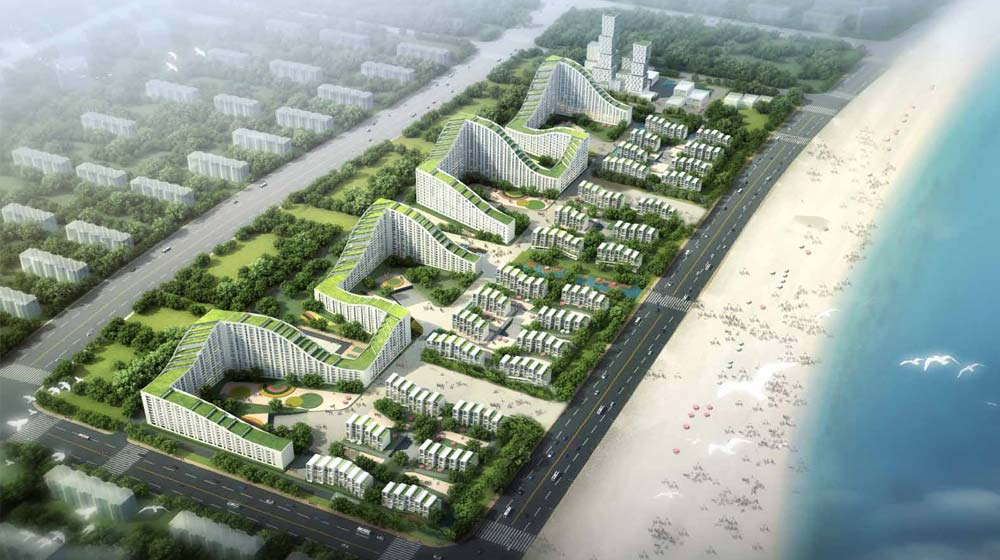 Dongjiang Harbor Master Plan / HAO + Archiland