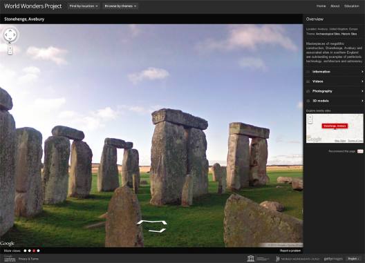 Stonehenge, Avebury : Screenshot via World Wonders Project