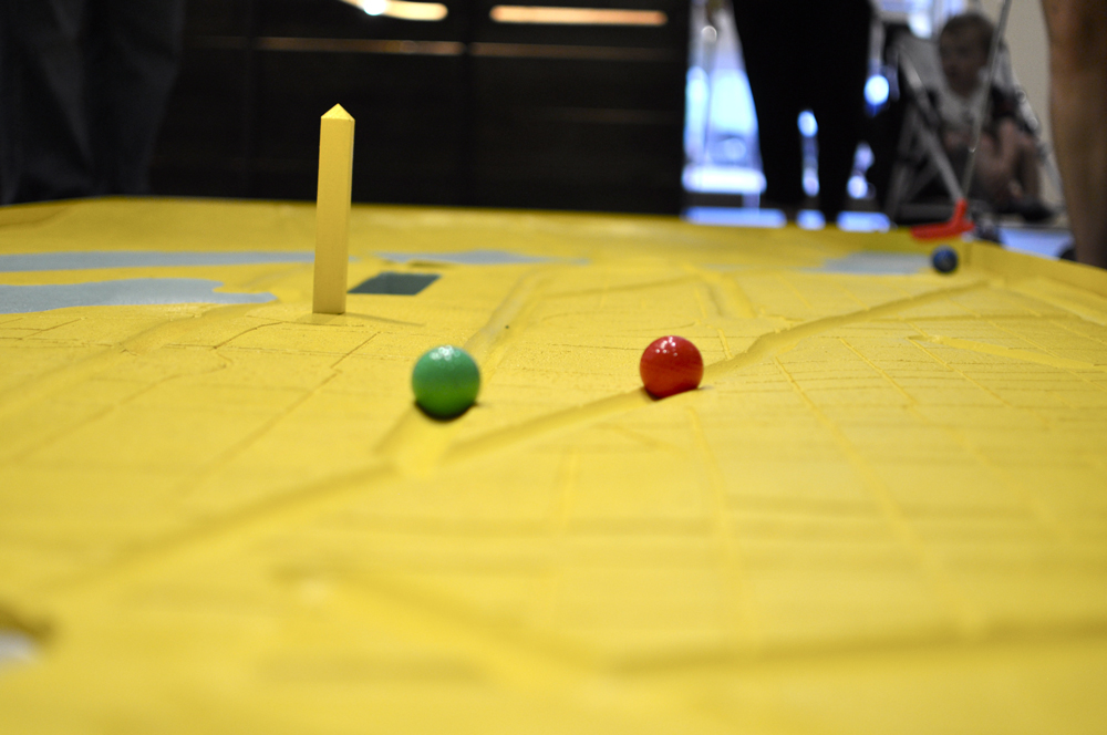 Mini-Golf Course Exhibition