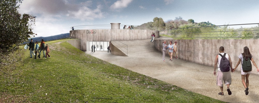 DOSA Archaeological Museum Proposal / ferrarifrongia Architects