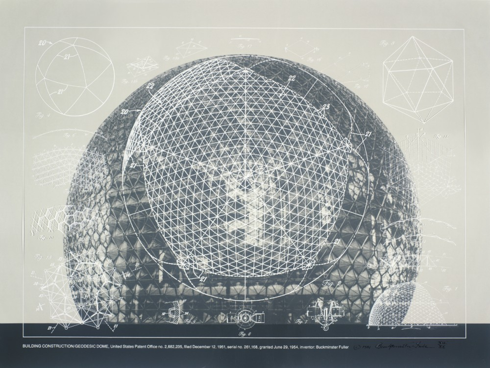 Happy birthday, Buckminster Fuller! (1895-1983)