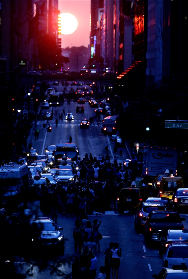 Manhattanhenge 2012