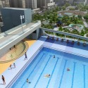 Kennedy Town Swimming Pool / TFP Farrells Render