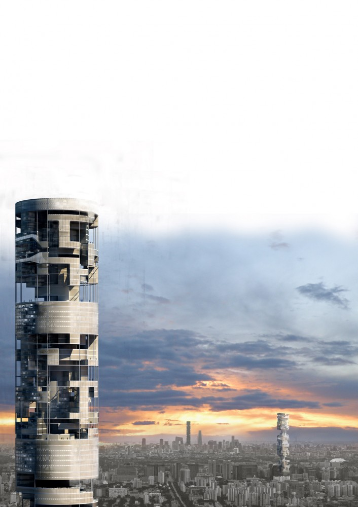 International Mock Firms Skyscraper Competition Proposal / ANDO | Andaluca Office