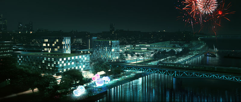 """Reunite the River with Our City"" / 4am Architekci"