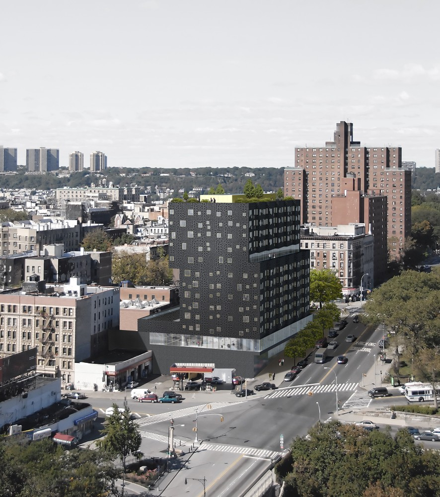 Sugar Hill Breaks Ground / Adjaye Associates