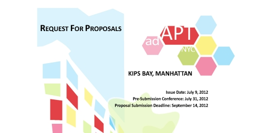 adAPT NYC Request for Proposals