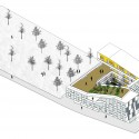 CYC Students Residence University (11) axonometric
