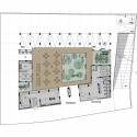 CYC Students Residence University (6) ground floor plan