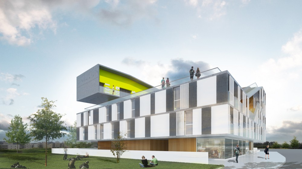 CYC Students Residence University / EKKY Studio