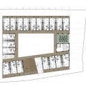 CYC Students Residence University (8) second floor plan
