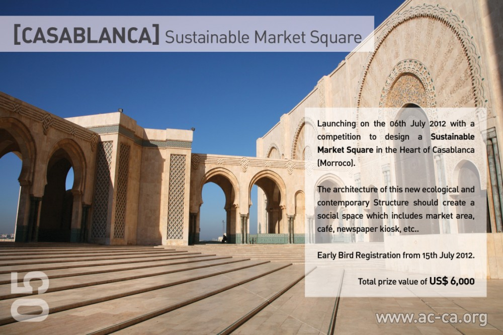 [CASABLANCA] Sustainable Market Square Competition
