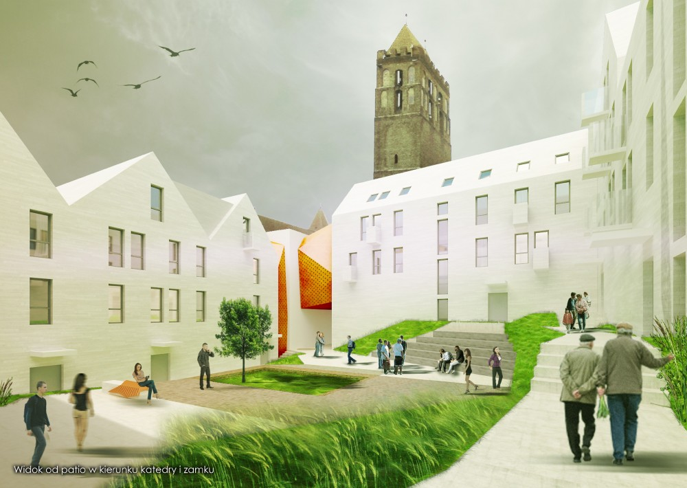 Kwidzyn Old Town Housing Proposal / Perspektywa