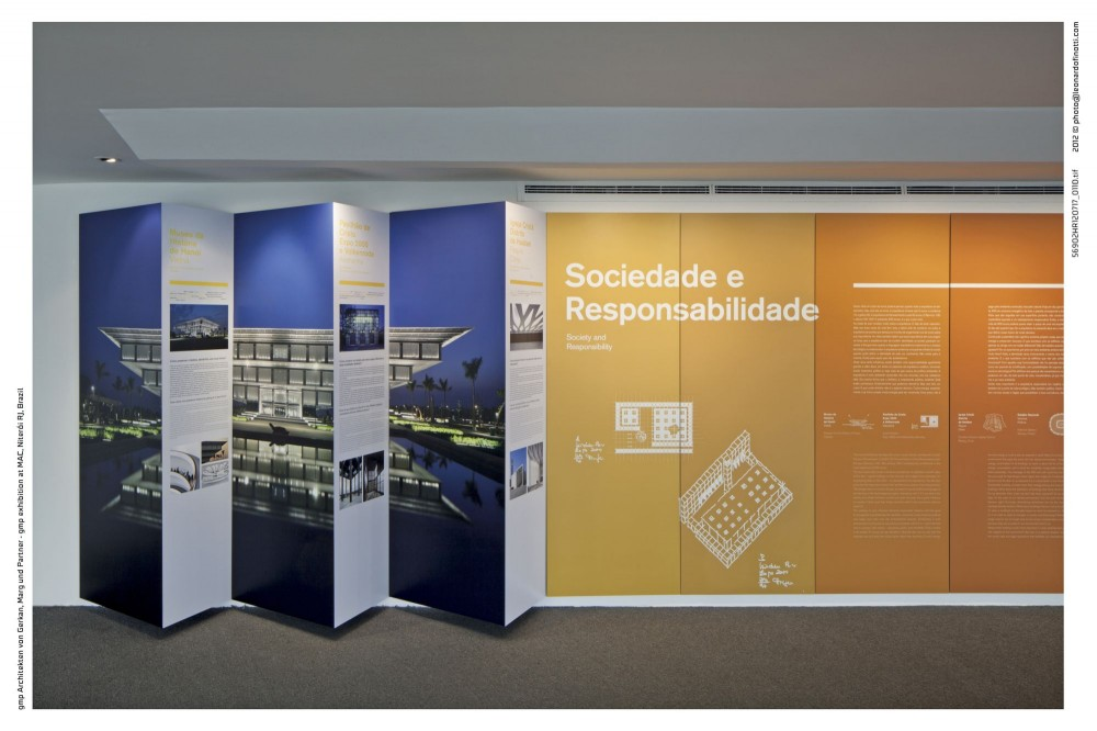 &#8216;Designing in Dialogue  Architectural Answers&#8217; Exhibition / gmp Architekten