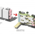 Singapore University of Technology and Design – Student Housing and Sports Complex (13) housing concept diagram