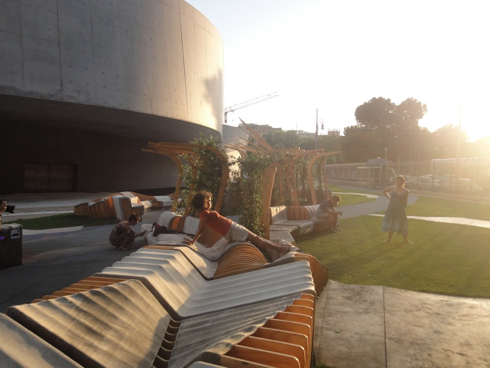Urban Movement Design debuts UNIRE/UNITE at MAXXI (Young Architects Program)