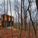 AIA selects the 2012 Recipients of the Small Project Awards (8) Stacked Cabin; Muscoda, WI / Johnsen Schmaling Architects  John J. Macaulay