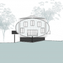 Maggie's Nottingham / CZWG Architects Elevation 02