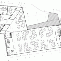 Walsall Housing Group HQ / Bisset Adams First Floor Plan 01
