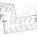 Walsall Housing Group HQ / Bisset Adams Second Floor Plan 01