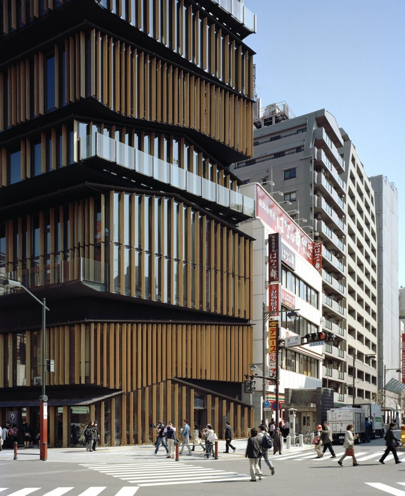 Asakusa Culture and Tourism Center / Kengo Kuma &#038; Associates