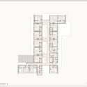 NOI Hotel / Jorge Figueroa + Asociados Fourth Floor Plan 01