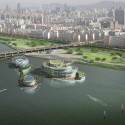 Seoul Floating Islands / Haeahn Architecture & H Architecture Courtesy of Haeahn Architecture