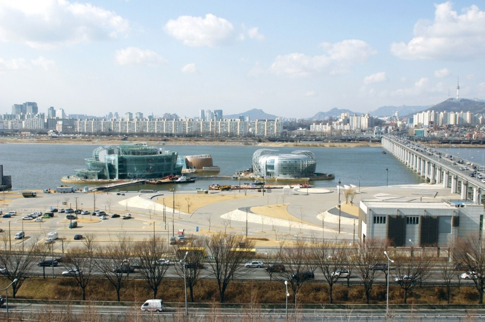 Seoul Floating Islands / Haeahn Architecture + H Architecture