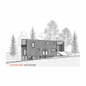 House La Invernada / MagiaLiquid Elevation 01