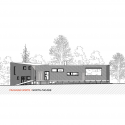 House La Invernada / MagiaLiquid Elevation 02