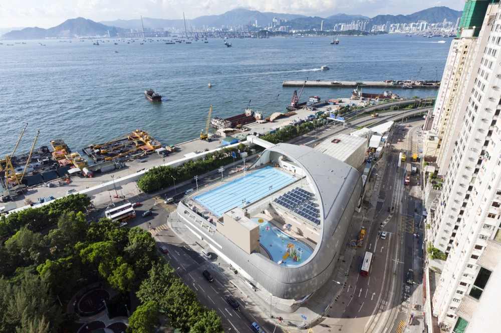 Kennedy Town Swimming Pool / TFP Farrells