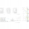 Enbutsu-do / Zai Shirakawa Architects Plan & Section 01