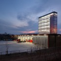 Firestation for the city of Puurs / Compagnie O Architects © Stijn Bollaert