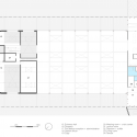 Firestation for the city of Puurs / Compagnie O Architects First Floor Plan 01