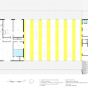 Firestation for the city of Puurs / Compagnie O Architects Ground Floor Plan 01