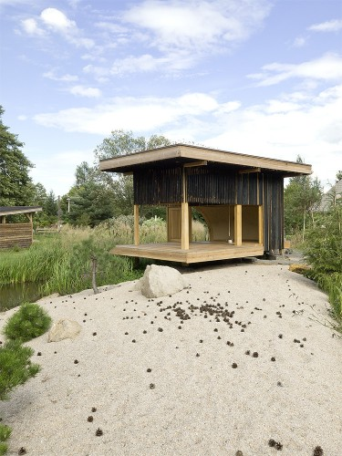 Black Teahouse / A1Architects Courtesy of A1Architects