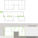 Cascading U Two-Family Residence / AREA Diagrams 01