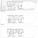 Cascading U Two-Family Residence / AREA Floors Plans 01