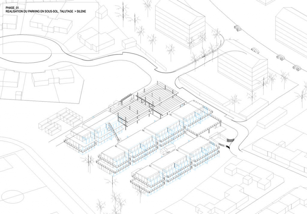 23 Semi-collective Housing Units / Lacaton & Vassal