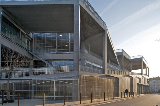 Nantes School of architecture / Lacaton & Vassal © Philippe Ruault