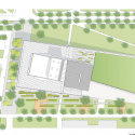 Wolfe Center for the Arts / Snohetta Site Plan 01
