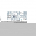 Fuencarral-El Pardo Police Station / Voluar Arquitectura Elevation 04