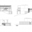 Villa P / Architektonicke Studio Atrium Elevation 01