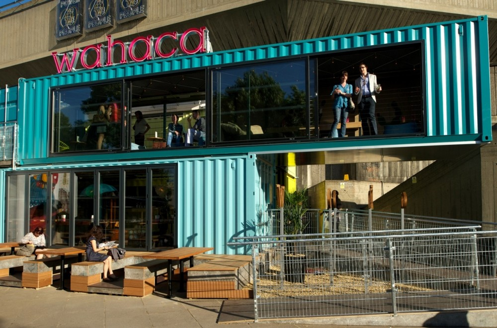 Architecture photography wahaca southbank softroom 256126 - Wahaca shipping container restaurant ...