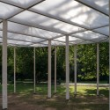 Oval shade in Gorky Park / Bureau Alexander Brodsky  Yuri Palmin